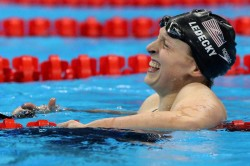 Ledecky Smashes Own 1 500m Record Pro Debut