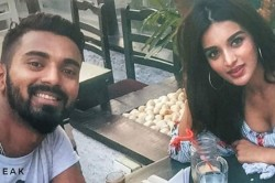 Kl Rahul Chills With Bollywood Beauty Nidhhi Agerwal
