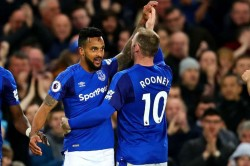 Wayne Rooney Theo Walcott Everton Dc United