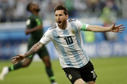 Fifa Wc 2018 Highlights Argentina Ride On Rojo Goal To Enter Round Of