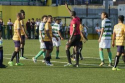 Referee Shows First Green Card Conifa World Football Cup Match