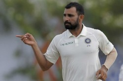 Mohammed Shami Fails Fitness Test Replaced By Saini Against Afghanistan
