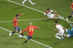Fifa Wc 2018 Highlights Spain Enter R 16 With A 2 2 Draw Against Morocco