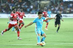 India Vs Kenya Sunil Chhetri Brace Hands Hosts The Intercontinental Cup