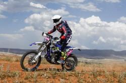 Sherco Tvs Factory Rally Team Begins Baja Aragon On High Note