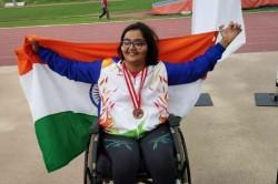 India S Ekta Wins Gold Bronze At World Para Athletics Grand