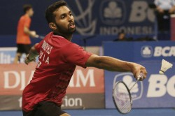 Hs Prannoy Stuns Lin Dan Enters Second Round At Indonesian Open