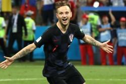 World Cup 2018 Russia Croatia Rakitic Penalty Shoot Out Semi Final Spot