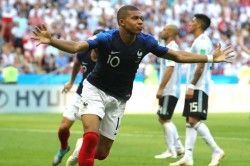 World Cup 2018 France Uruguay Kylian Mbappe Faces Ultimate Diego Godin Test