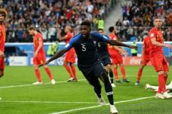 France 1 Belgium 0 Umtiti Heads Les Bleus Into World Cup Final