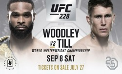 Woodley Vs Till Headline Ufc Return To Dallas
