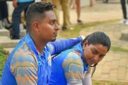 Asian Games 2018 Deepika Das Bow Of Recurve Mixed Team Eve