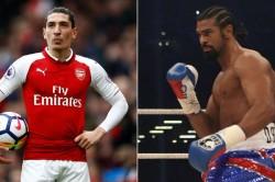 Arsenal S Hector Bellerin Sought Boxer David Haye S Vegan Advice