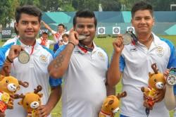 Asian Games 2018 Indian Men S Compound Archery Team Miss Go