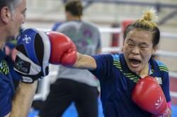 Sarjubala Devi Through Quarterfinals Asian Games 2018 Boxing