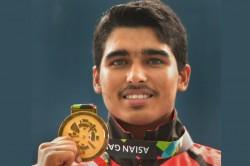 Asian Games 2018 Saurabh Chaudhary Wins 10m Air Pistol