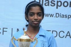 Vaishali Is India S Latest Woman Grand Master