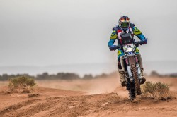 Sherco Tvs Factory Rally Team S Metge Brothers Lead After Stage 3 Panafrica Rally