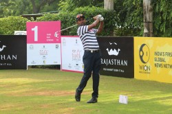 Golf Anura Rohana Fires 62 Seize First Round Lead At Jaipur Open
