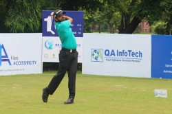 Qa Infotech Open Chiragh Kumar Shoots Two Eagles Grab Share Of Opening Day Lead