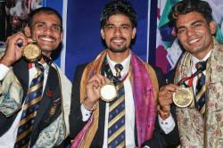Asian Games Gold Medallist Rower Dattu Bhokanal Credits Teammates