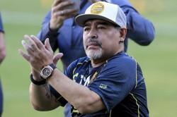Diego Maradona Mexico Dorados Coach Ascenso Mx