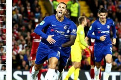 Efl Cup Review Hazard Stars As Chelsea Beat Liverpool Alli Homecoming