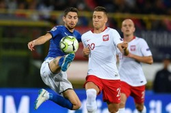 Italy 1 Poland 1 Jorginho Mancini Zielinski