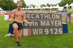 Mayer Breaks Decathlon World Record