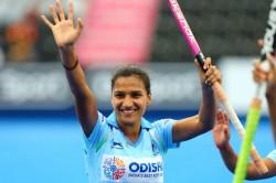 Asian Games 2018 Closing Ceremony Hockey Captain Rani Rampal Flag Bearer