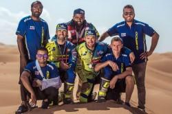Sherco Tvs Factory Rally Team S Michael Metge Wins Panafrica Rally
