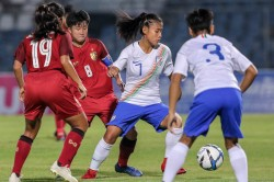 Afc U 19 Women S Championship Qualifiers India Upset Thailand 1