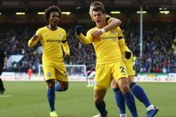 Premier League Report Burnley Chelsea Alvaro Morata Ross Barkley Willian