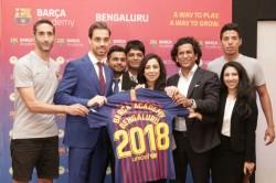 Barcelona Academy Launch Two Football Schools Bengaluru