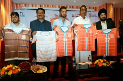 I League Club Chennai City Fc Unveil Jerseys New Season