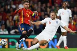 Mauricio Pochettino Eric Dier Sergio Ramos Tackle England Spain