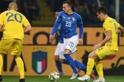Italy 1 Ukraine 1 Mancini Winless Run Friendly Report
