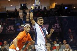 India S Ghosal Goes Down Fighting World No 1 El Shorbagy