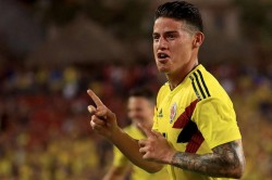 United States Colombia James Rodriguez