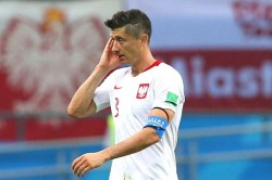 Poland 2 Portugal 3 Robert Lewandowski
