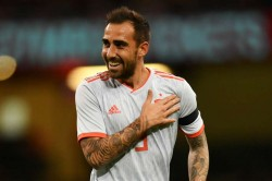 Wales 1 Spain 4 Paco Alcacer Goals International Friendly