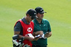 Patrick Reed Two Shot Lead Wgc Hsbc Champions