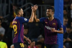 Barcelona 2 Inter 0 Rafinha Messi Champions League Match Report