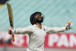 India Vs West Indies Rajkot Test Ravindra Jadeja Dedicates Maiden Inter