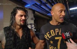 Rumour Wwe Planning Roman Reigns Vs The Rock For Wrestlemania 35 Main Event