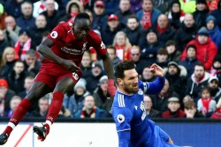 Liverpool 4 Cardiff City 1 Mane At The Double Premier League