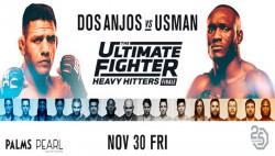 Tuf 28 Heavy Hitters Season Finale Fight Card Schedule