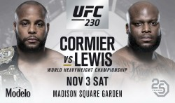 Ufc 230 Cormier Vs Lewis Headline Event Poirier Pulls Out