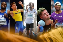 Iaaf Shortlists Five Male Athlete The Year Award