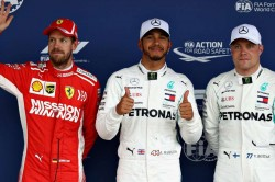 F1 Raceweek Vettel Weighbridge Hamilton Pole Brazil Gp